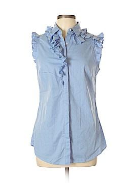 Banana Republic Sleeveless Button-Down Shirt Size 10