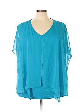 Alyx Limited Short Sleeve Blouse Size 3X (Plus)