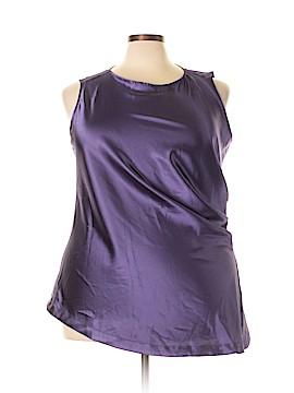 Melissa McCarthy Seven7 Sleeveless Blouse Size 3X (Plus)