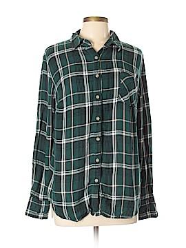 Ava & Viv Long Sleeve Button-Down Shirt Size X