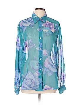 Impressions Long Sleeve Blouse Size XL