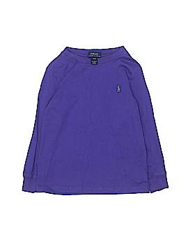Polo by Ralph Lauren Long Sleeve T-Shirt Size 4