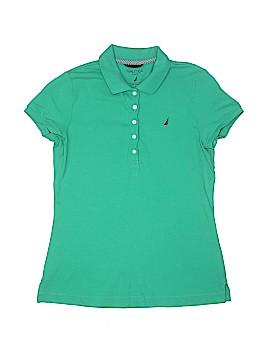 Nautica Short Sleeve Polo Size M (Youth)