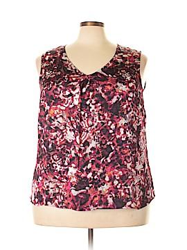 Jones Studio Short Sleeve Blouse Size 2X (Plus)