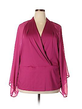 City Chic Short Sleeve Top Size 24 Plus (XL) (Plus)