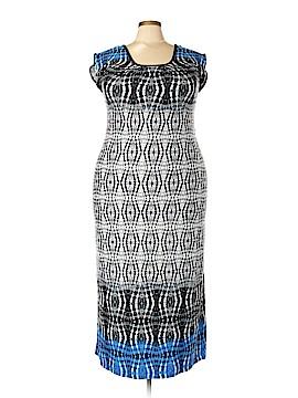 Olivia Matthews Casual Dress Size 2X (Plus)