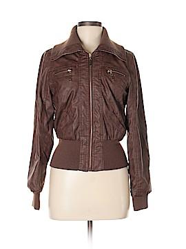 Ashley Faux Leather Jacket Size M