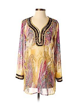 Adrienne Vittadini Long Sleeve Blouse Size S