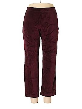 Susan Graver Velour Pants Size M