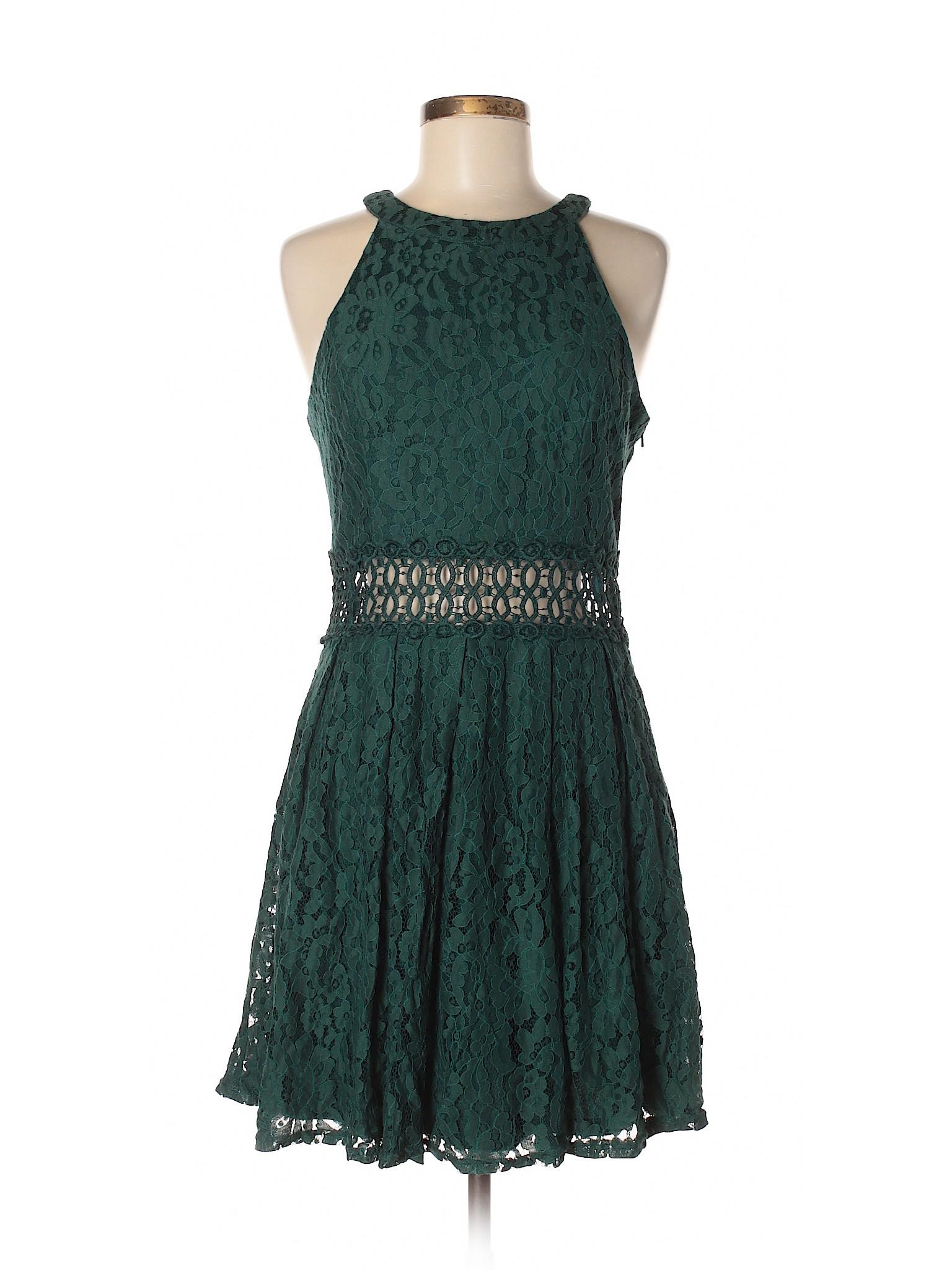 winter Rain Boutique Casual Dress Blue dqWw7H