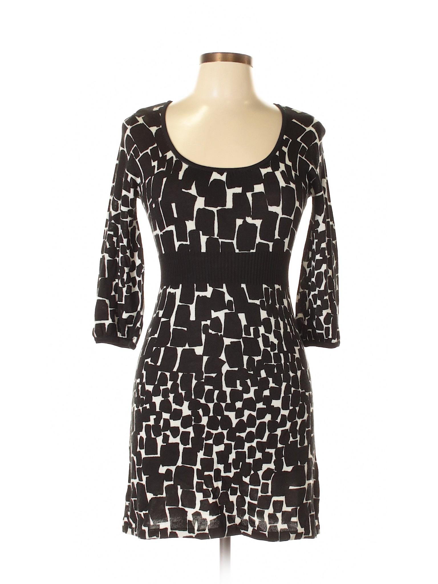 Market Casual Dress House White Boutique Black winter IwnqFnSO