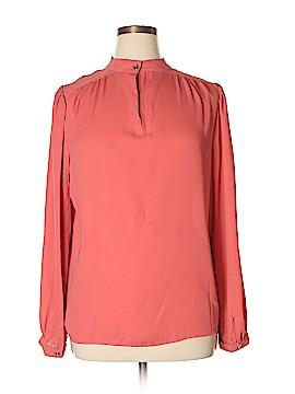 Joan Vass Long Sleeve Blouse Size XL
