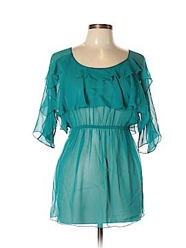 Susana Monaco 3/4 Sleeve Silk Top Size 8