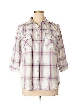 Carhartt 3/4 Sleeve Button-Down Shirt Size XL