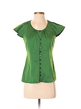 Banana Republic Factory Store Short Sleeve Button-Down Shirt Size XS