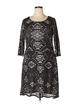Trixxi Casual Dress Size 1X (Plus)