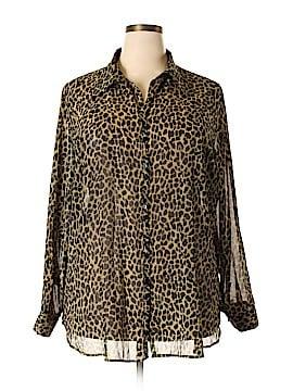 Venezia Long Sleeve Blouse Size 22 (Plus)
