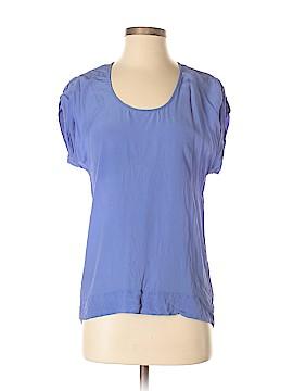 BDG Short Sleeve Silk Top Size S