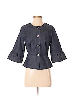 Sandro Sportswear 3/4 Sleeve Button-Down Shirt Size S