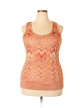 INC International Concepts Sleeveless T-Shirt Size 1X (Plus)