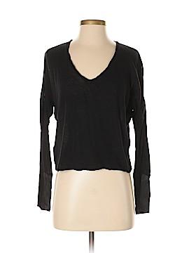 Maje Long Sleeve Top Size Sm (1)