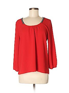 Crescent Long Sleeve Blouse Size M (Petite)