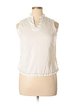 April Cornell Sleeveless Blouse Size L