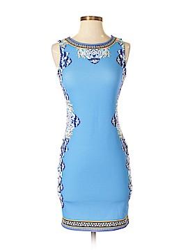 Peachpuff Casual Dress Size S