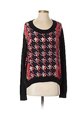 Rebecca Minkoff Long Sleeve Silk Top Size S