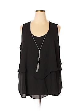 Kim Rogers Sleeveless Blouse Size 3X (Plus)