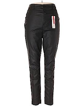New Look Faux Leather Pants Size 50 (EU) (Plus)