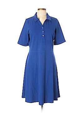 Lands' End Casual Dress Size L (Plus)