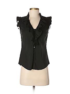 Ann Taylor LOFT Short Sleeve Button-Down Shirt Size XS