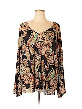 Venezia Long Sleeve Top Size 28 - 26 Plus (Plus)