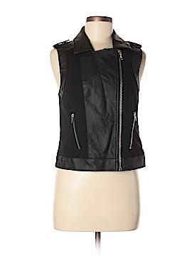 ABS Allen Schwartz Faux Leather Jacket Size M