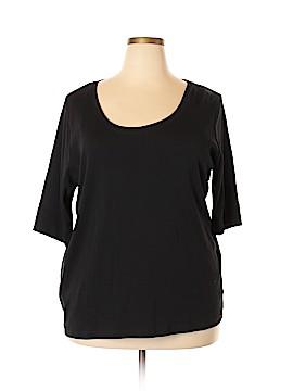 Jones New York Sport 3/4 Sleeve T-Shirt Size 3X (Plus)