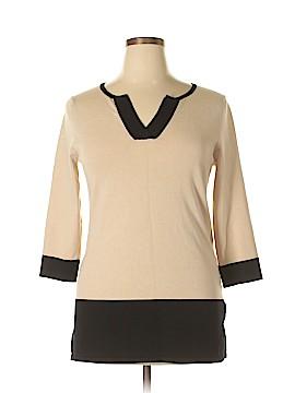 Roz & Ali Pullover Sweater Size L