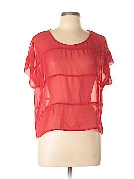 Maddy...K Short Sleeve Blouse Size L