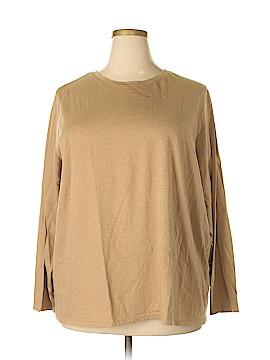 Lands' End Long Sleeve T-Shirt Size 2X (Plus)