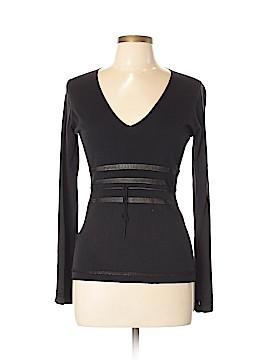 Max Studio Silk Pullover Sweater Size L