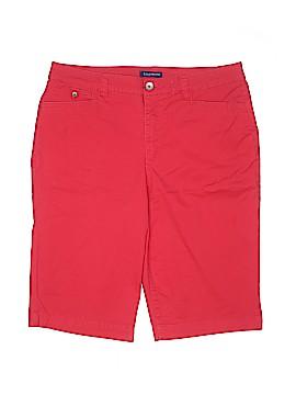 Bandolino Khaki Shorts Size 14