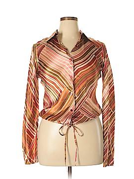 Chadwicks Long Sleeve Silk Top Size 10