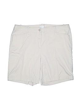 J.jill Khaki Shorts Size 14