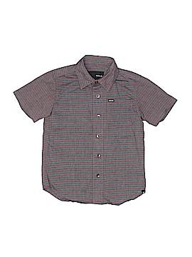 Hurley Short Sleeve Button-Down Shirt Size 5