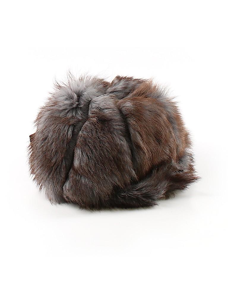 c754b01db6b Fendi 100% Shearling Solid Brown Winter Hat One Size - 44% off
