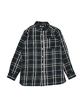 Chaps Long Sleeve Button-Down Shirt Size 10-12