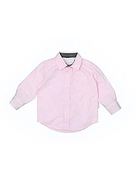 Koala Kids Long Sleeve Button-Down Shirt Size 6-9 mo