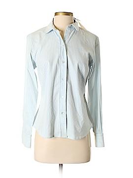 Studio M Long Sleeve Button-Down Shirt Size S