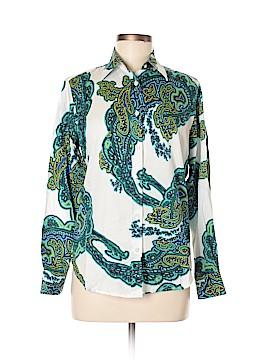 Craig Taylor Long Sleeve Button-Down Shirt Size M