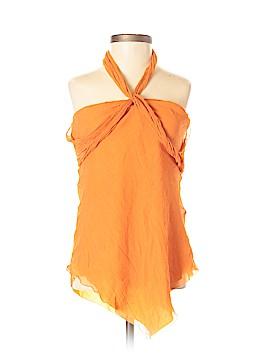 Nicole Miller Collection Sleeveless Silk Top Size P